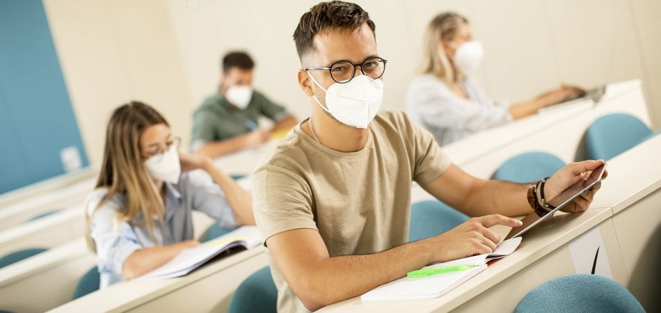 Studying under pandemic conditions