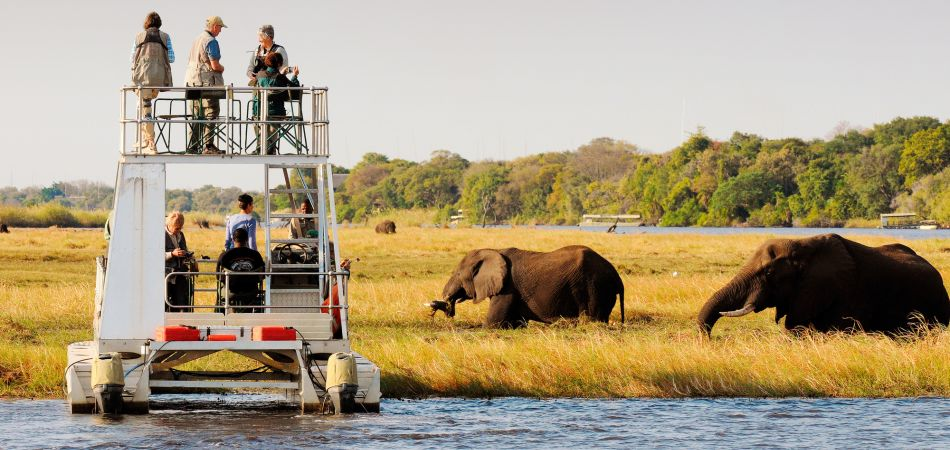 Sustainable tourism: Okavango Delta in Botswana is part of the KAZA project.