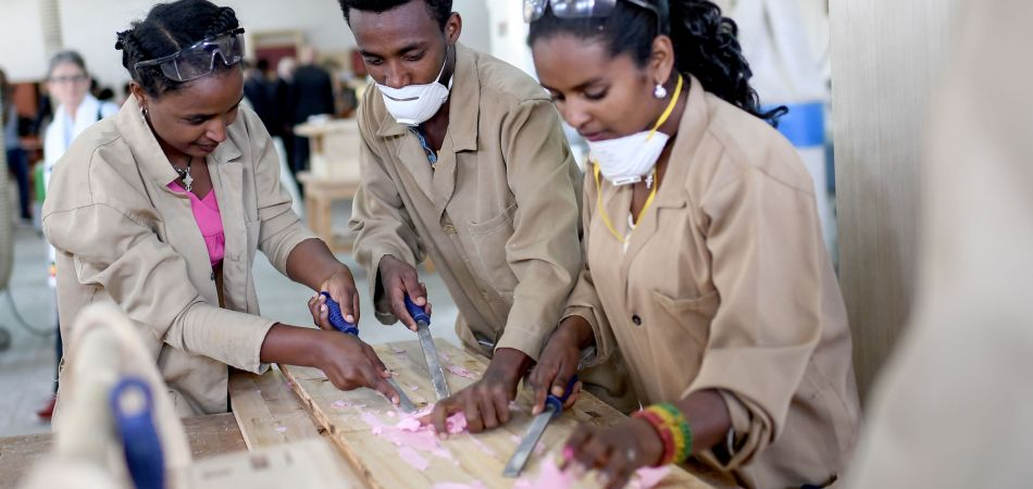 Vocational training in Ethiopia: success with practical skills