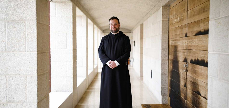Father Nikodemus, an adviser at the Federal Foreign Office