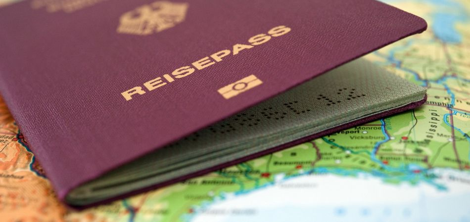 Reisepass Visa in Germany