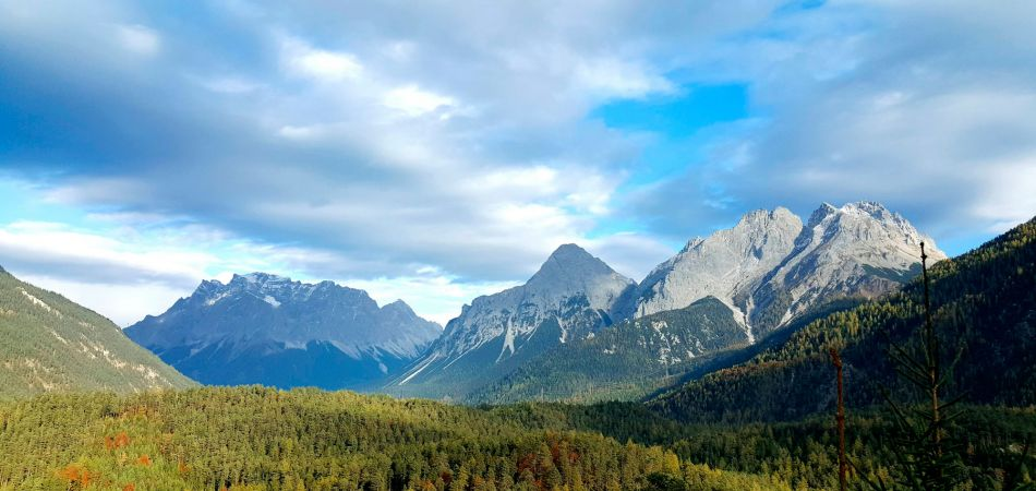 The Zugspitze in the Alps