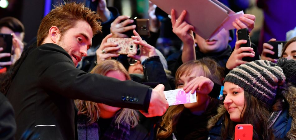 Berlinale 2018: Fans asediando al actor Robert Pattinson