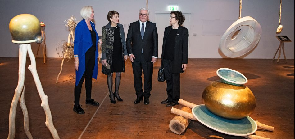 German president opens celebrations for Bauhaus centenary year
