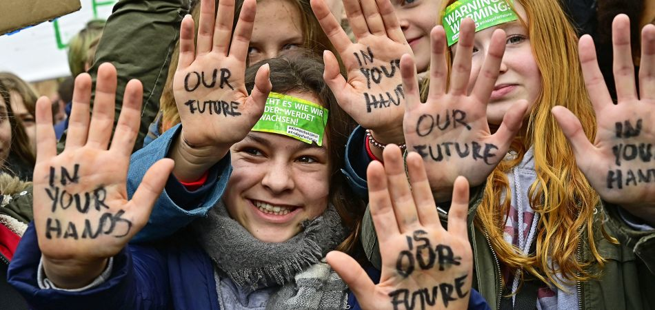 Fridays for Future: school students in Germany are also demonstrating for climate protection