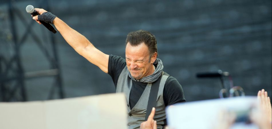 Bruce Springsteen has spent his career singing iconic, gravel-throated songs of hope and despair over the American dream