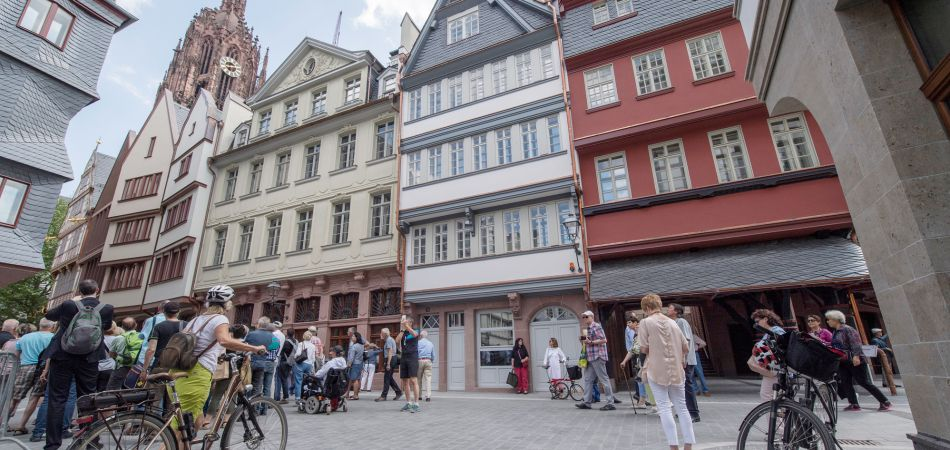 Frankfurt: The Old Town was rebuilt in 2018.
