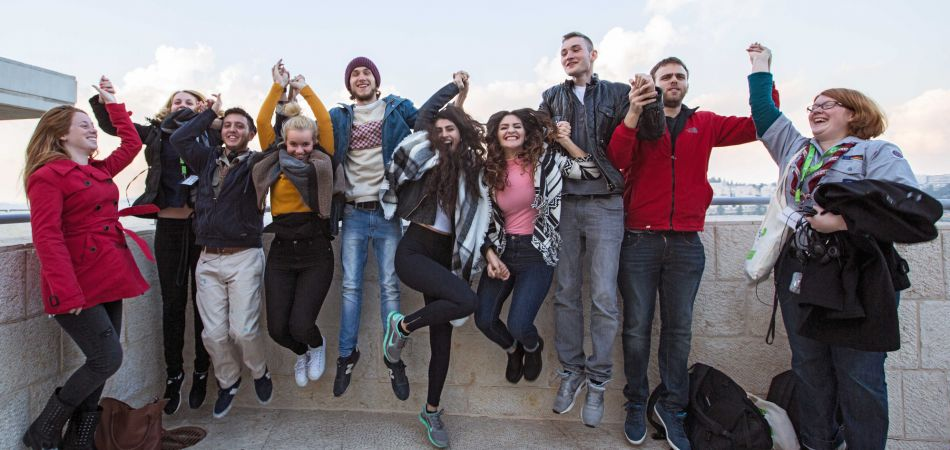 Making friends: young people from Germany and Israel