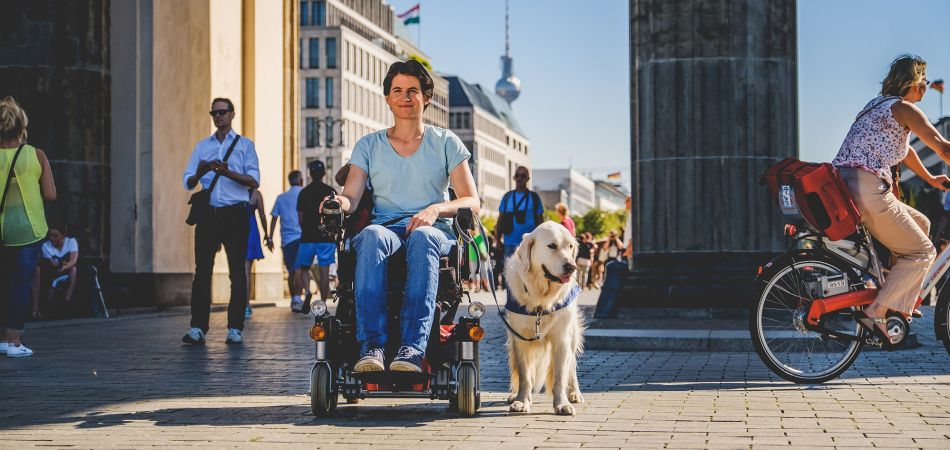 Traveling by wheelchair in Berlin