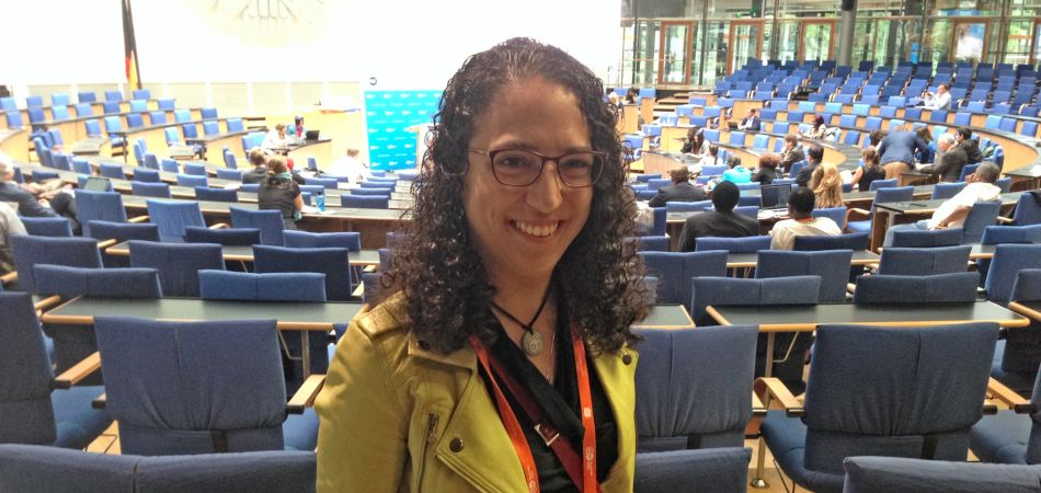 Emilia Díaz Struck no Global Media Forum em Bonn