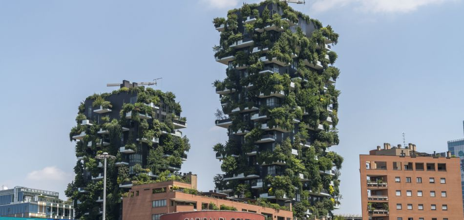 Bosco Verticale in Milan – both houses and forest.
