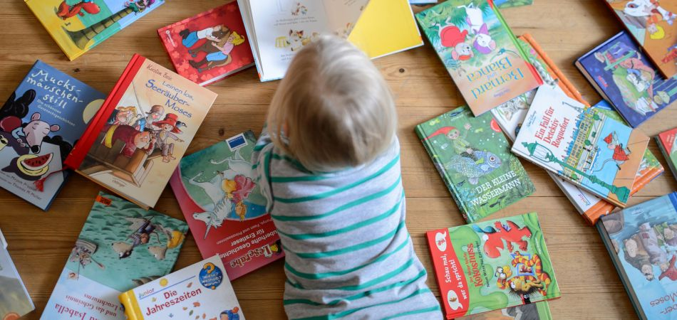 Many Germans love to read – from a very young age.