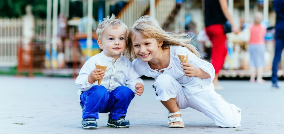 Ice cream is a big hit in summer