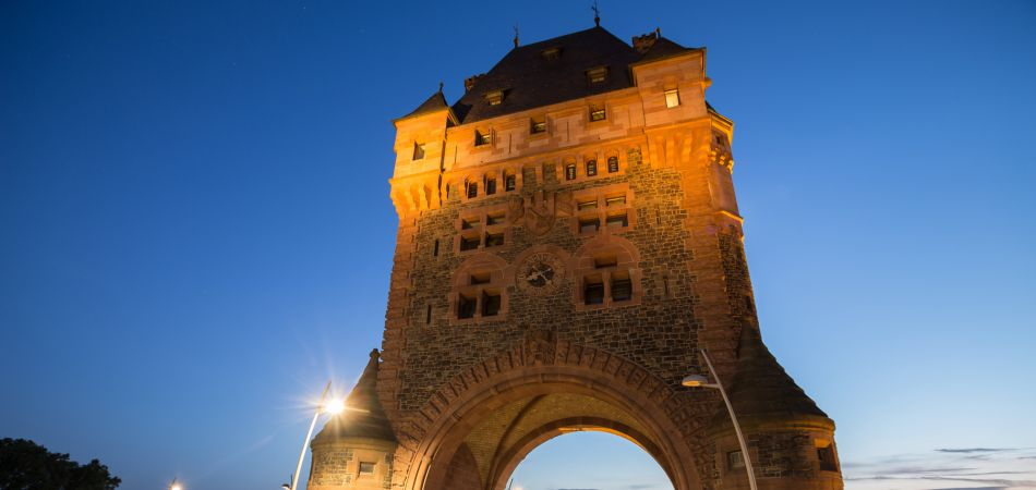 Worms is the oldest city: the Nibelungenturm.
