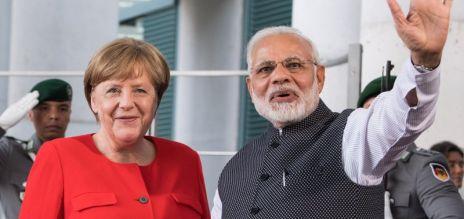 Merkel reist nach Neu Delhi