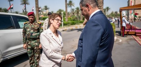 German defence minister visits Iraq