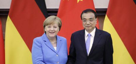 Merkel visits Beijing