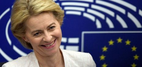 Congratulations for von der Leyen