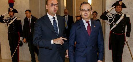 Heiko Maas zu Gast in Rom