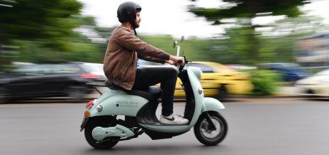 Scooters eléctricos compartidos