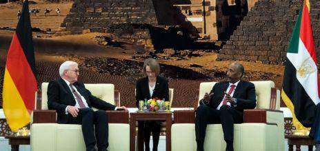 German President visits Sudan