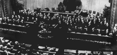 The Weimar constitution: 100 years