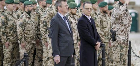 Heiko Maas in Afghanistan