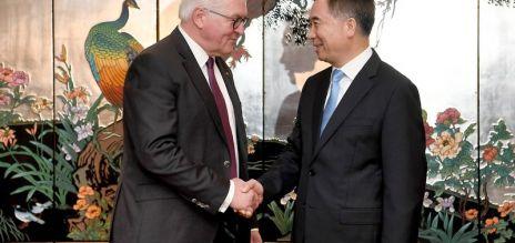 Bundespräsident auf China-Reise