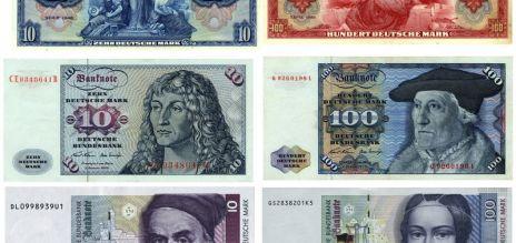 El marco alemán cumpliría 70 años