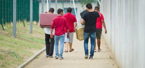 Weniger Asylbewerberleistungen