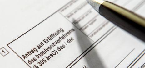 Individual bankruptcy falls