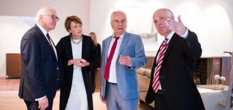 Steinmeier eröffnet Mann-Haus