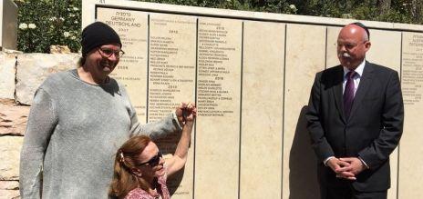 German couple honoured in Israel