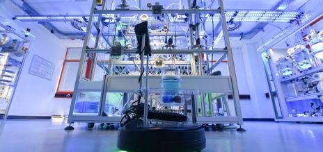 Hohe Roboterdichte in Deutschland