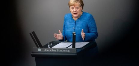 Merkel calls for climate actions