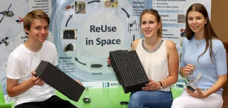 Schoolkids develop space recycling