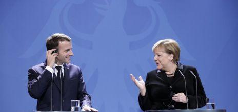 Macron in German parliament