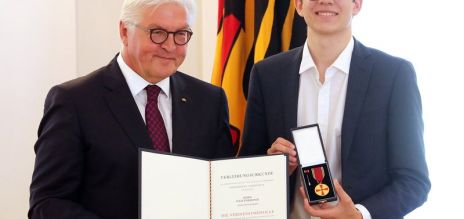 German award for planting trees
