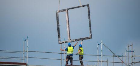 Bauindustrie wächst weiter kräftig