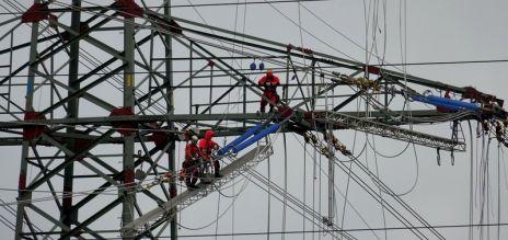 Tempo beim Stromnetzausbau