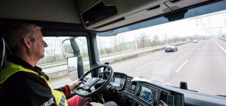 Test track for hybrid trucks opened