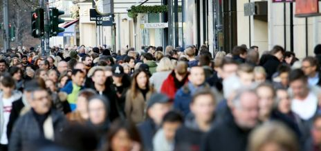 German population growth slows