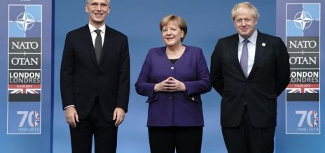 Zweiter Tag des Nato-Gipfels