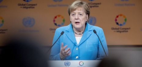 Merkel lauds UN's migration accord