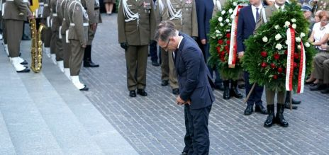 Gedenken an den Warschauer Aufstand