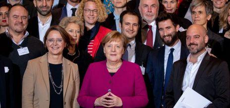 Merkel verleiht Integrationspreis