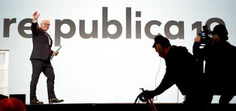 Bundespräsident eröffnet re:publica