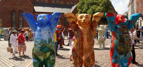 Berlin Buddy Bears in Latvia