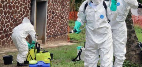 Aid to battle ebola in Congo