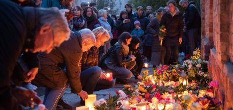 Gedenken nach Anschlag in Halle